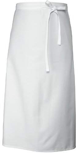 Purchase Chef Works B4Lg-Wht White Long Four Way Apron compare