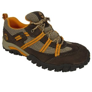Timberland Boys Trailscape Ex Oxford Trainer Shoes - Brown
