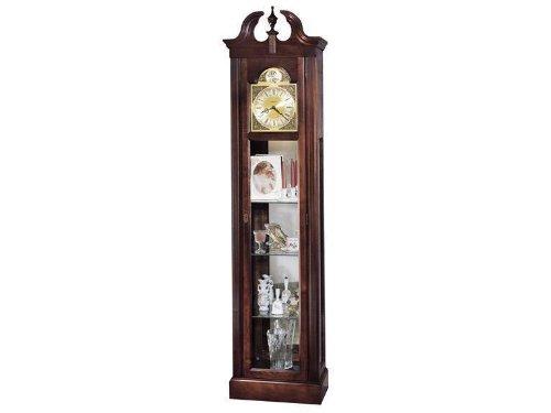 Howard Miller Cherish Curio Grandfather Clock MPN: 610614