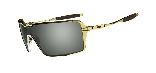 Oakley Sunglass Probation Polished Gold w/Dark Grey 4041-03