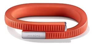 UP 24 by Jawbone - Bluetooth Enabled -  Medium - Retail Packaging - Persimmon Red