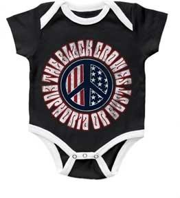 Black Crowes Bodysuit ''Euphoria Or Bust' Black' Infant Onesie (6-12 Months) front-10937