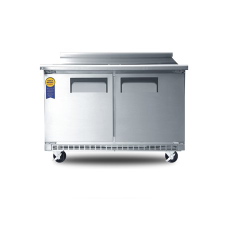 "48"" Two Door Mega Top Sandwich Prep Table"