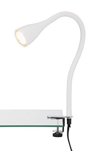 LED-Klemmleuchte-Klemmspot-Klemmlampe-Tischleuchte-Anklemmleuchte-LED-Tischlampe-Nachttischlampe-Leselampe-Bett-Wohnzimmer-Tischlampen-Leseleuchte-flexibel