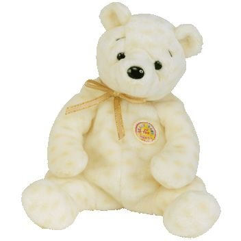Ty Beanie Babies Popcorn the Bear (Retired Beanie Baby of the Month: October - 2003)