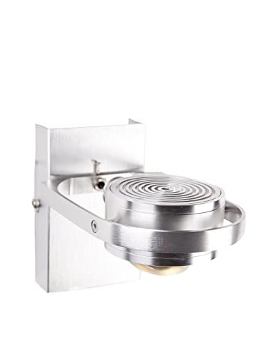 Control Brand The Bienne 1-Light LED Wall Scone, Silver