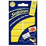 Sellotape Removable Sticky Fixers Double Sided Foam Pads 20x40mm Pack of 10