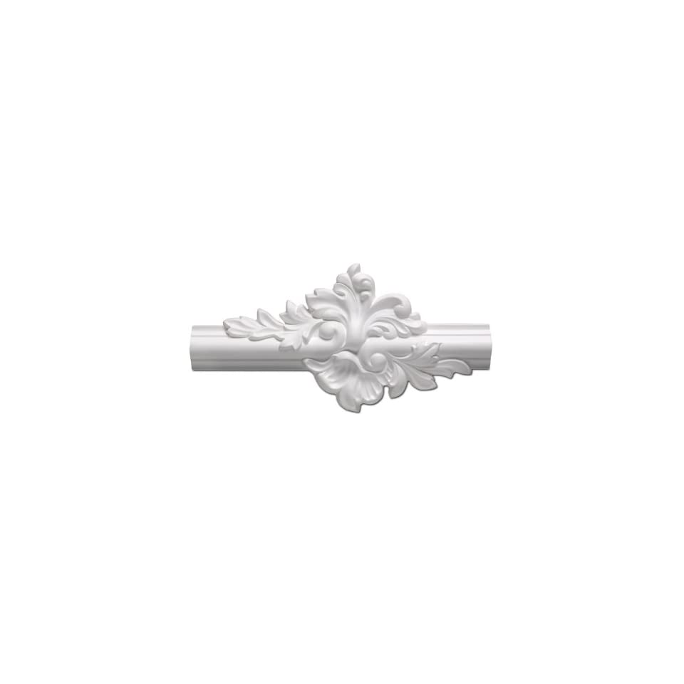 Focal Point 10399 System A Small Panel Corner 5 3//4-Inch by 5 3//4-Inch by 11//16-Inch Primed White 4-Pack