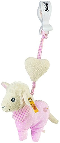 Steiff Sweet Dreams Lamb Pendant - Pink