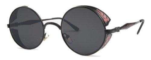 Vivian-Vincent-Vintage-Hippie-Retro-Metal-Round-Circle-Frame-Sunglasses
