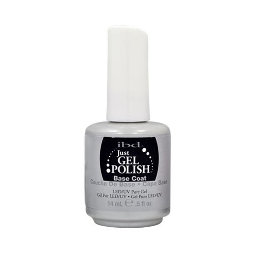 IBD Just Gel BASE COAT .5 oz UV Nail Polish Foundation
