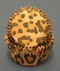 Leopard Cupcake Baking Cups