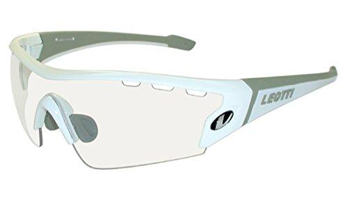 LEOTTI(レオッティ)サングラス アスリート設計 クリア1眼レンズ LEO-03CL-WHT