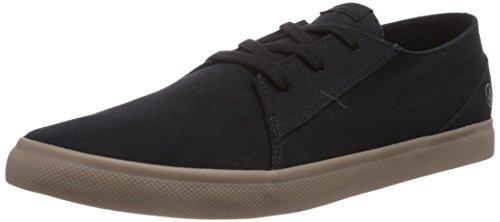 Volcom Lo Fi Shoe, Scarpe da skateboard uomo, Nero (Schwarz (Sulfur Black / Slf)), 41