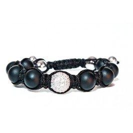 Clichy - Tresor Paris Bracelet - Black Diamond set in Sterling Silver - Ladies