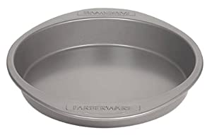 "Nonstick Carbon Steel 9"" Round Cake Pan"