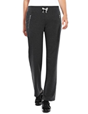 M&S Collection Zipped Joggers with StayNEW™