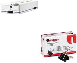 KITFEL00007UNV10200 - Value Kit - Bankers Box Liberty Storage Box FEL00007 and Universal Small Binde
