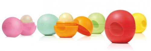 4x EOS LIP BALM - Sphere - Lippenbalsam