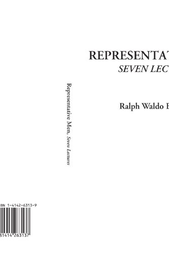Representative Men (Seven Lectures) (Emerson Essays And Lectures compare prices)