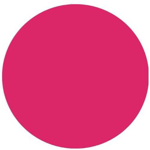 Polka Dot Decal  11 Hot Pink Removable, Self Adhesive Wall Sticker