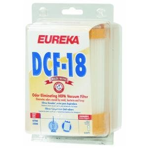 Eureka Hepa Filter With Arm & Hammer Used On Eureka Carded front-58506