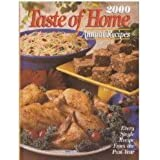 2000 Taste of Home Annual Recipes