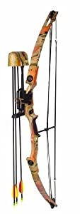 Arrow Precision Grizzly Youth Archery Bow Set (55-Pounds) by Arrow Precision