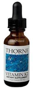 Vitamin K2 1 fl oz (30mL) by Thorne Research