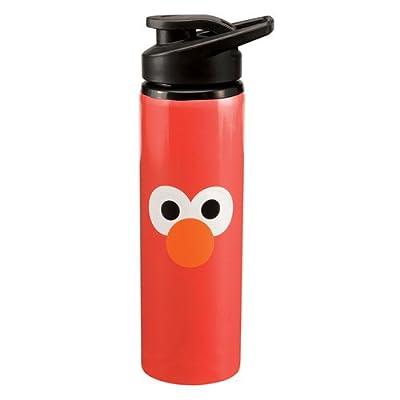 Vandor 32010 Sesame Street Elmo 24-Ounce Stainless Steel Water Bottle, Red