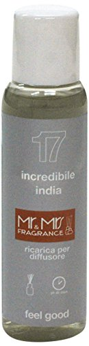 Mr&Mrs easy fragrance 017 India incredibile india 詰め替えボトル100ml
