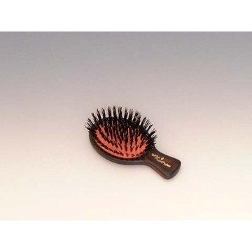 ホンゴ ハイミニクッションブラシ 柄ABS樹脂 材質猪毛