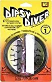 Luhr Jensen Dipsy Diver, Watermelon/Silver Bottom, 4 1/8-Inch