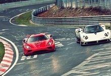 red-cars-koenigsegg-pagani-track-racing-koenigsegg-agera-r-pagani-zonda-s-pagani-zonda-cinque-racing