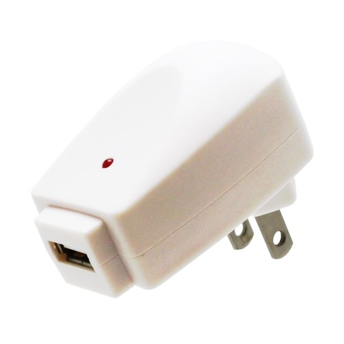 Fosmon Usb Wall Charger For Samsung Galaxy S5 (1Amp) - White