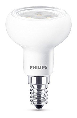 Philips Lampadina LED Faretto E14, 5 W Equivalenti a 60 W, Luce Bianca Naturale Calda Dimmerabile