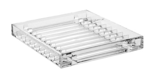 US Acrylic LLC Clear CD Storage Tray - holds 10 standard CD jewel cases at Sears.com
