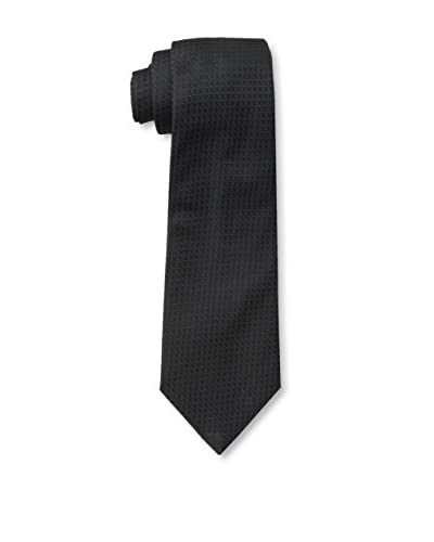 Givenchy Men's Squares Tie, Black/Charcoal