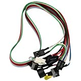 Banggood Power Cable Button Switch For Pc Replacement On Off Switch Reset Computer