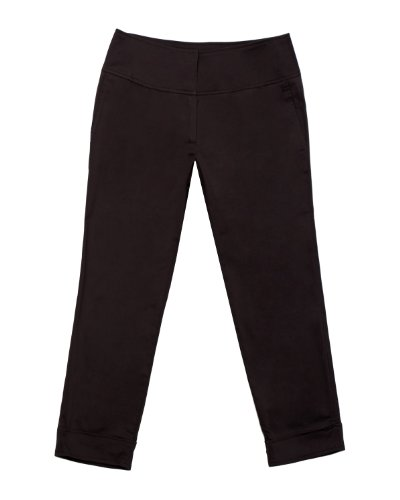 Stretch Sateen Capris