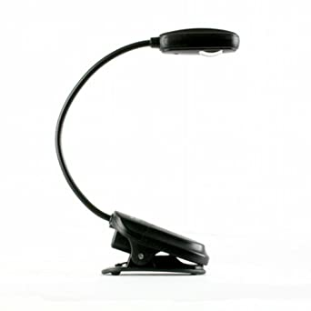 Mighty Bright eFlex Clip-On Reading Light for Kindle (Black)