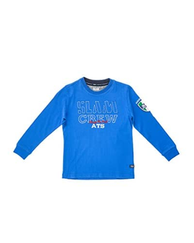 Slam Camiseta Manga Larga Jr Ls Tai Po Azul Royal