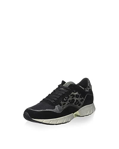 Crime London Zapatillas 25157A15 Leopardo / Negro