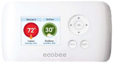 ecobee Smart Si Thermostat 2 Heat-2 Cool with Full Color NON-Touch Screen (Wifi Thermostat Heat Pump compare prices)