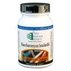 Ortho Molecular Products, Saccharomyces Boulardii, 60 Capsules
