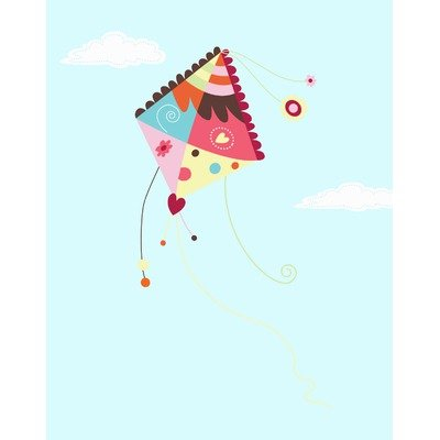 Kite in the Sky Wall Decal