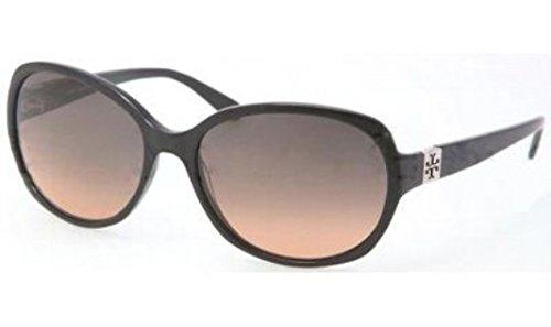 Tory BurchTory Burch TY7033 Sunglasses - 501/95 Black (Gray Orange Fade Lens) - 58mm