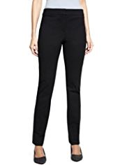 M&S Collection Modern Slim Leg Ponte Trousers