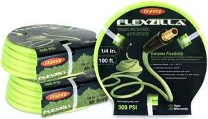 Legacy Hfzp14100yw2 Flexzilla Pro 1 4 X 100 Ft Air Hose Air Tool Hose Reels
