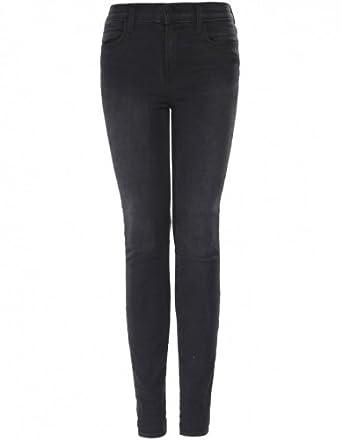 J Brand Photo Ready Maria Skinny Jeans UK 29 Black